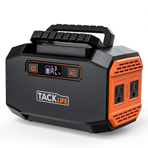 tacklife p16 150w portable power station 167wh 45000mah battery generator
