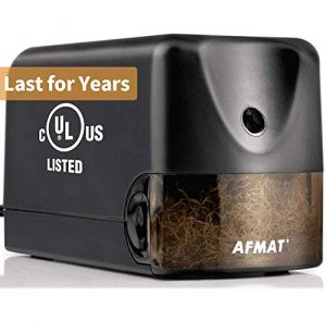 afmat electric pencil sharpener heavy duty classroom pencil sharpener for 1