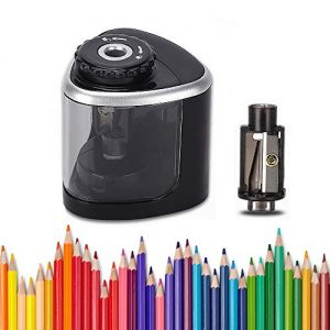 lobkin electric pencil sharpener battery powered batteries included 1