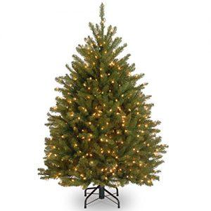 national tree company pre lit artificial christmas tree includes pre strung 1