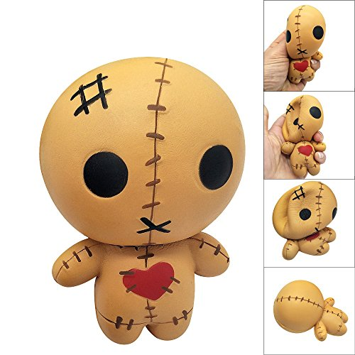 OYEFLY Squishy Toy Soft Exquisite Horror Doll Scented Stress Relief Toy Soft Toy Kawaii Collection Slow Rising Toy Decompression SimulationToys Cure Toy for Kid Gift Toys