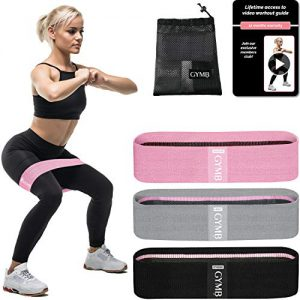 booty 3 resistance bands for legs and butt set exercise bands fitness bands