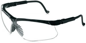howard leight by honeywell genesis sharp shooter shooting glasses clear lens