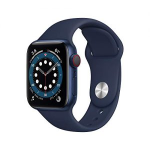 new applewatch series 6 gps cellular 40mm blue aluminum case with