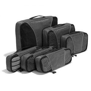 ebags classic 6pc packing cubes titanium