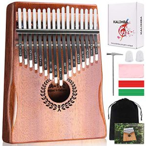 kalimba 17 keys thumb piano easy to learn portable musical instrument gifts