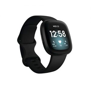 fitbit versa 3 health fitness smartwatch with gps 247 heart rate alexa