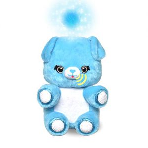fuzzible friends cuddles the puppy plush light up toy works with compatible