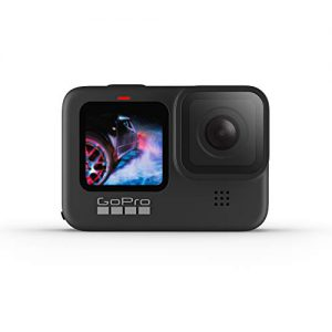 gopro hero9 black waterproof action camera with front lcd and touch rear