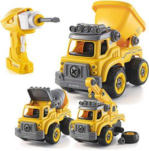 take apart toys with electric drill converts to remote control car 3 in