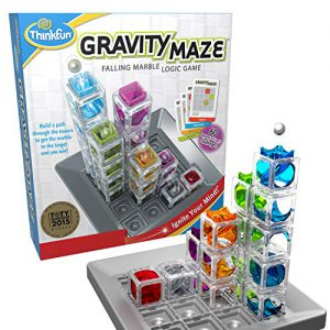 thinkfun gravity maze marble run brain game and stem toy for boys and girls
