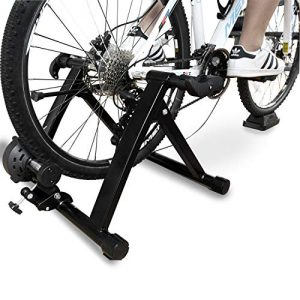 balancefrom bike trainer stand steel bicycle exercise magnetic stand with