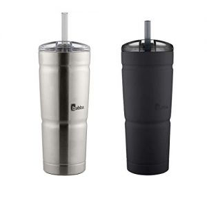 bubba envy s tumbler 24 oz black and stainless steel 2 pack