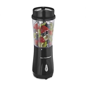 hamilton beach personal blender for shakes and smoothies with 14oz travel cup