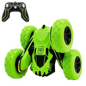threeking rc cars stunt car toys for kids boys girls ages 6 remote control