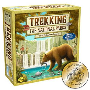trekking the national parks the award winning family board game second