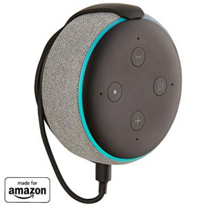 made for amazon mount for echo dot 3rd gen black