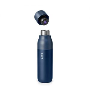 larq bottle self cleaning and insulated stainless steel water bottle with