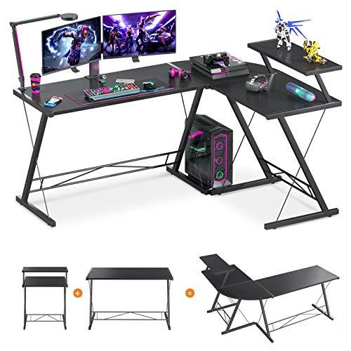 61 Super Large L Shaped Desk