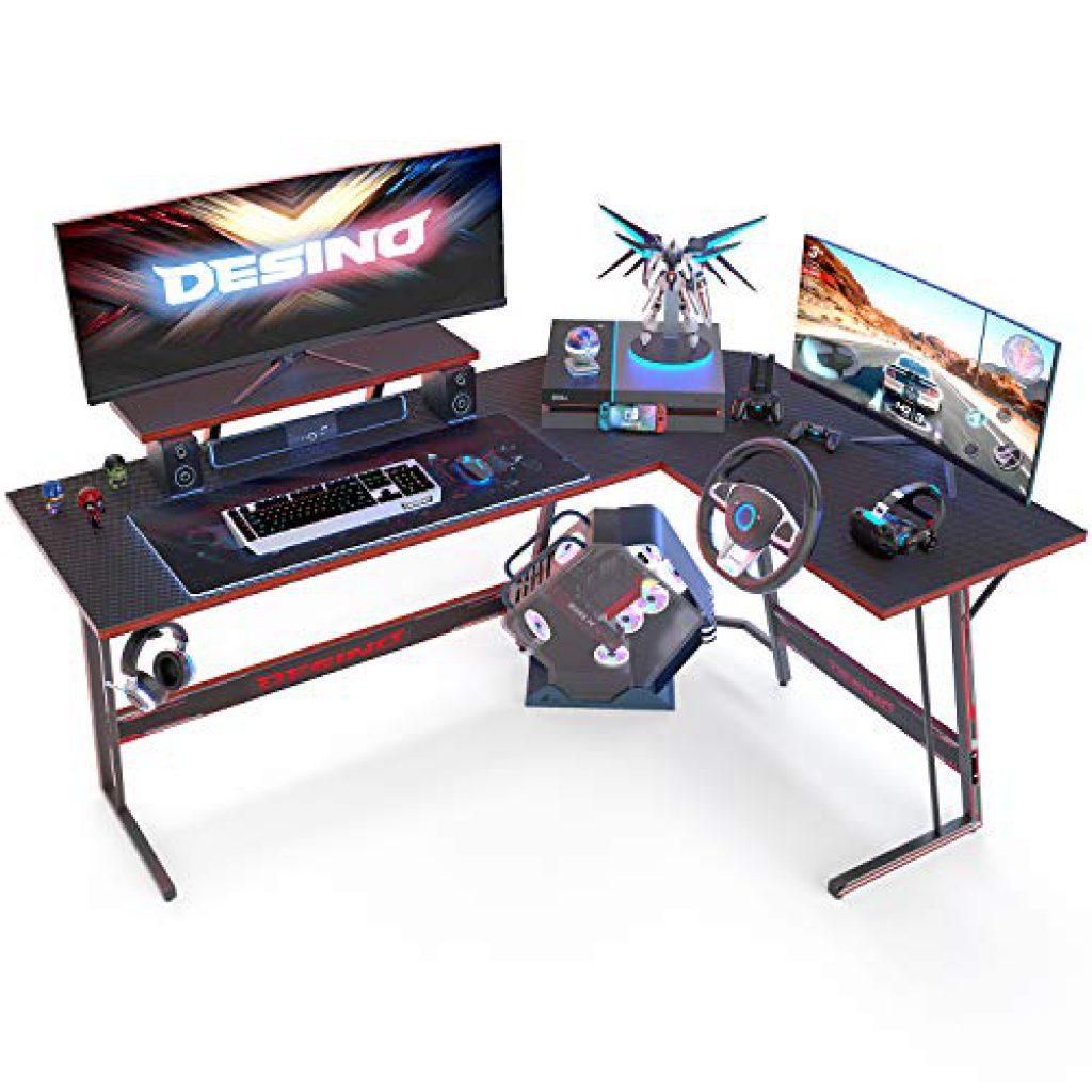 DESINO L Shaped Gaming Desk