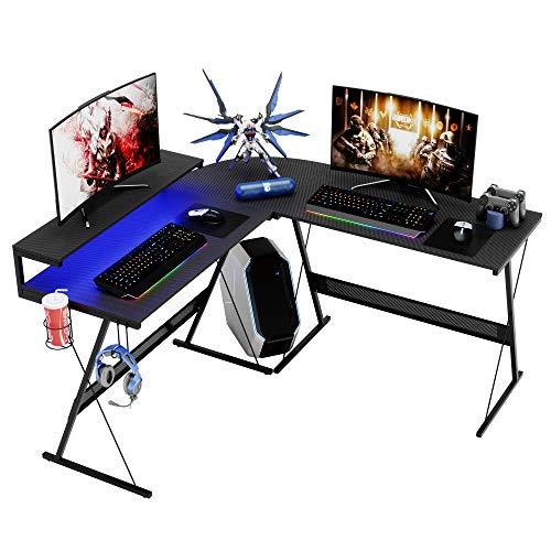 Modern L Shaped Gaming Desk