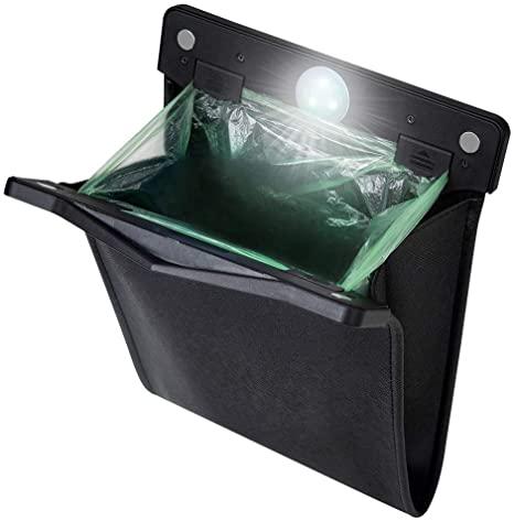 yicheyiyou Smart LED Car Trash Can