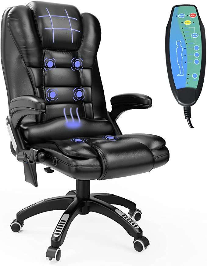 4 EVER WINNER Ergonomic Massage Gaming Chair