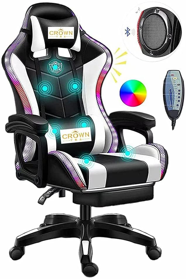 FURIOUS Video Gaming Chairs with LED Light